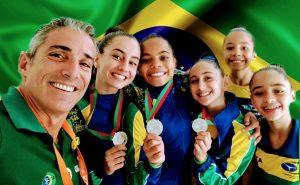 Medalha de Prata categoria Trio, Open World Cup/Portugal - Abril2019.